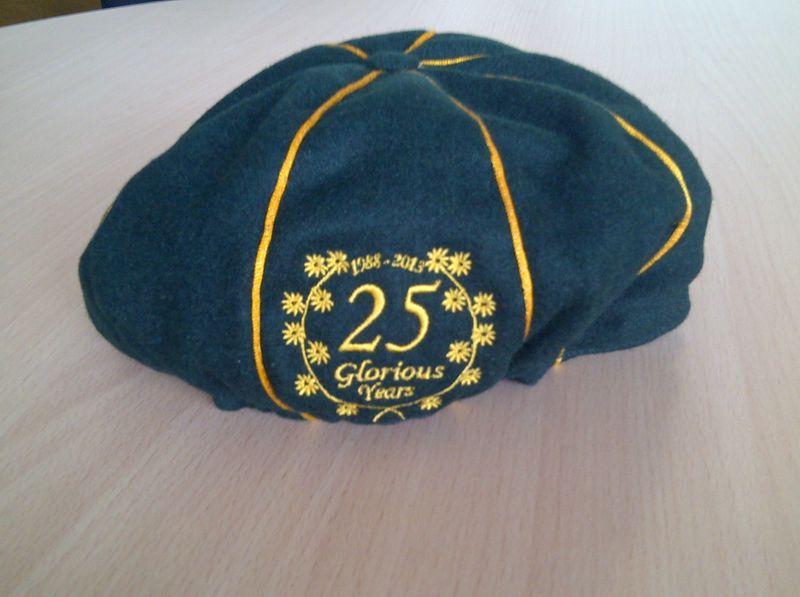 Chigwell 25 cap back